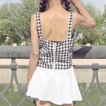 Summer Sexy Vest Topics Cropped Feminino Female Camis Women Hot Sexy Summer Woman Topics Blusa Clothes HTC962