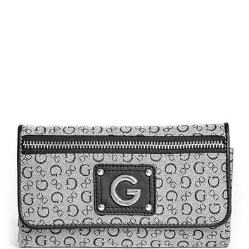 PEAPGQ6 G by GUESS Women's Faye Slim Wallet