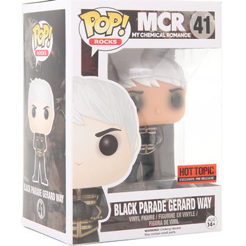 Funko My Chemical Romance Pop! Rocks Black Parade Gerard Way Vinyl Figure Hot Topic Exclusive Pre-Release