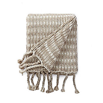 "Moderne by Noble Excellence Gramercy 50x70"" Knit Throw"