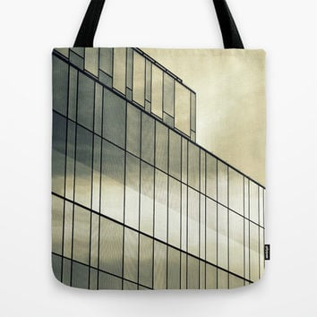 Silver Sliver Tote Bag by RichCaspian | Society6
