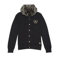 Leopard Print Cardigan by Juicy Couture