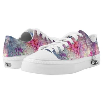 Composition in Pastel Printed Shoes