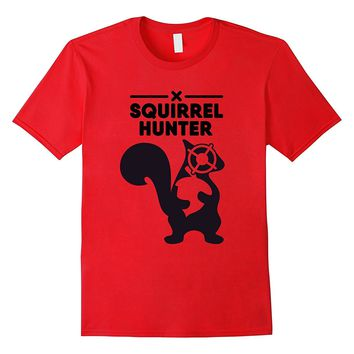 Squirrel Hunter Funny T-Shirt Hunting and the Outdoors