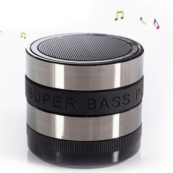 Bluetooth Wireless Speaker Mini Portable Super Bass For Iphone Samsung Tablet (Size: 2, Color: Black) = 1705895172