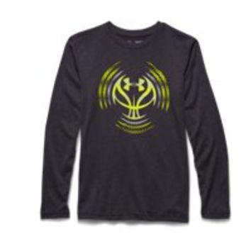 Under Armour Boys' UA Zone Hoops Long Sleeve T-Shirt