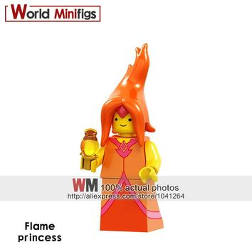 Single Sale Building Blcoks Flame princess Adventure time jack Banana guard Finn The giant Susan Grob Figures Gift Toys Kids