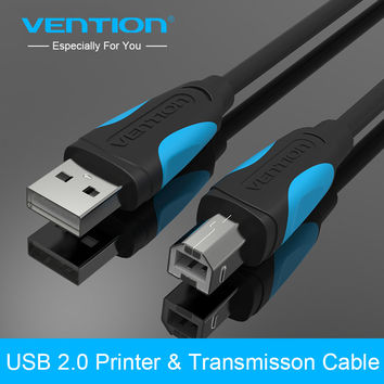 Vention USB 2.0 Type A to B Male to Male Printer Cable Sync Data Charging Cord 1m 1.5m 2m 3m 5m