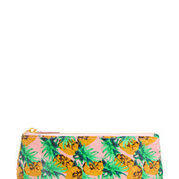 Painted Pineapple Cosmetic Pouch