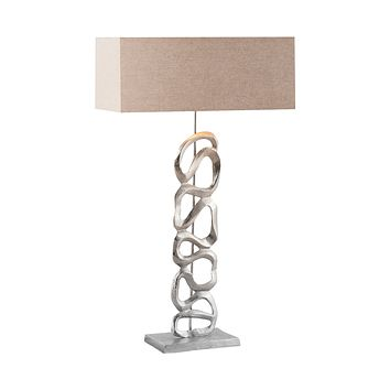 8468-065 Essence 1 Light Table Lamp In Nickel - Free Shipping!