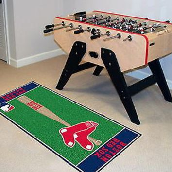 Boston Red Sox Runner Area Rug