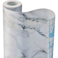 Kittrich Corp CONTACT PAPER 18andquot;X9' WHT MARBL