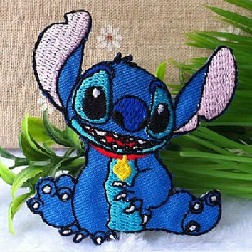 Disney's Lilo & Stitch iron on Applique,iron on / sew on patch,Embroidery