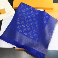 Louis Vuitton Women Scarf Shawl Silk Scarf-23