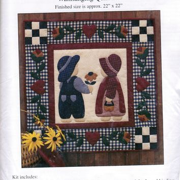 Wallhanging Quilt Kit 'Best Friends'