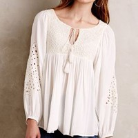 Mirabella Peasant Top by Floreat Ivory
