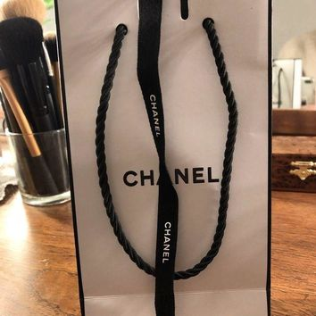 DCK4S2 Empty Chanel Coco Mademoiselle Perfume Bottle, Box And Bag