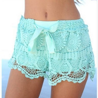 Fashion Lace Shorts SA710CE