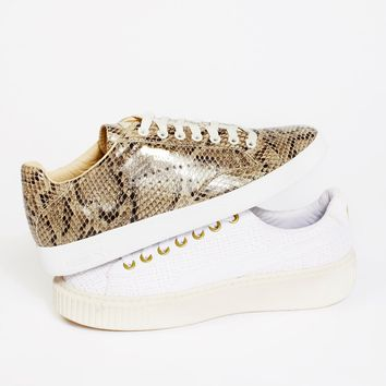Free People Match Animal Court Sneaker