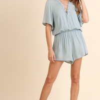 Palm Springs Romper