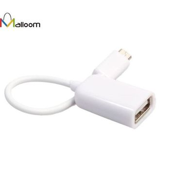 DCCKJY1 New Arrival USB 2.0 A Female to Micro B Male Adapter Cable USB HUB Micro USB Host Mode OTG Cable #20