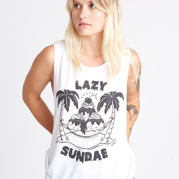Lazy Sundae Muscle Tee