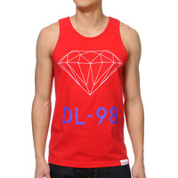 Diamond Supply DL-98 Red Tank Top at Zumiez : PDP