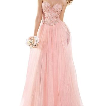 Tamm Dress Prom Dresses Formal Dresses Strapless Beaded Gowns Wedding Dresses