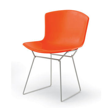 Knoll Bertoia Plastic Side chair by Harry Bertoia