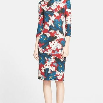 Women's Erdem 'Ohana' Print Ponte Jersey Dress,