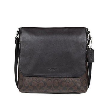 Coach Men's Pvc Handbag Crossbody
