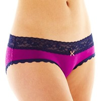 Flirtitude® Lace Hipster Panties