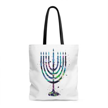 Menorah Tote Bag