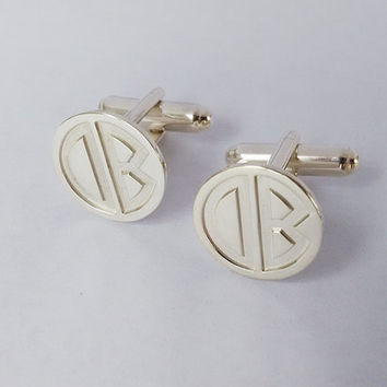 Personalized Wedding Cufflinks,Personalized Cufflinks for Groom,Groomsmen Cufflinks,Engraved Cuff links,Monogram CuffLinks,Cuff links Custom