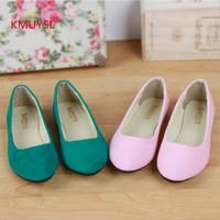 2016 Summer New Large Size Women's Fashion Flat  Suede Shoes Woman Ballet Flats Shoes