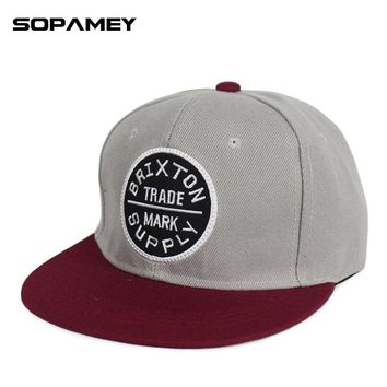 2017 Brand Snapback Baseball Hat Brixton Letters Embroidery Supply Hip Hop Boy Hats For Men and Women Sports Caps Male Bone Cap