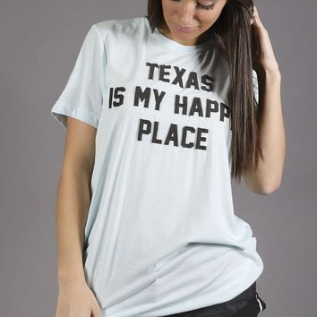 charlie southern: texas is my happy place t shirt