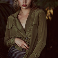 Webster Blouse - Olive | Stone Cold Fox