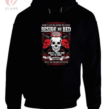 Skull Beside My Bed Hoodie