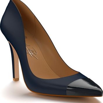 Shoes of Prey Cap Toe Pump (Women) | Nordstrom