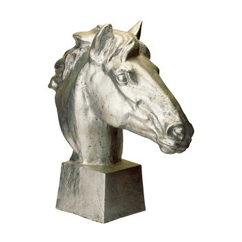 Lazy Susan Gilded Age Horse Head - 228003
