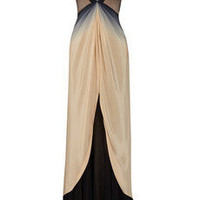 Zac Posen Ombré silk gown - 65% Off Now at THE OUTNET