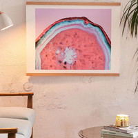 Emanuela Carratoni For DENY Pluto Agate Art Print - Urban Outfitters