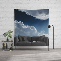 Sky, clouds and lights. Wall Tapestry by VanessaGF