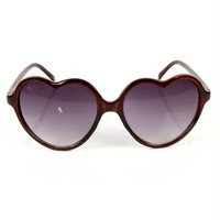 Black Heart Shape Sunglasses