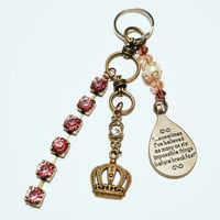 Alice in Wonderland Impossible Things Key Chain