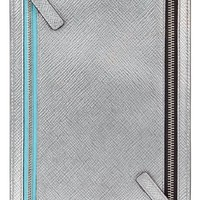 Smythson Panama Zip Leather Currency Case | Nordstrom