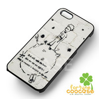 The Little Prince Quotes Phone Case -swn for iPhone 6S case, iPhone 5s case, iPhone 6 case, iPhone 4S, Samsung S6 Edge
