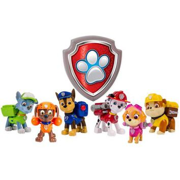 Paw Patrol Action Pups 6pk Walmart Exclusive - Walmart.com