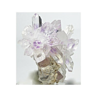 Brandberg Violet Amethyst Phantom Crystal Starburst Cluster Bright and Lustrous Wear it or Display it